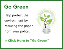 Go Green with Patriot Life | Click Here